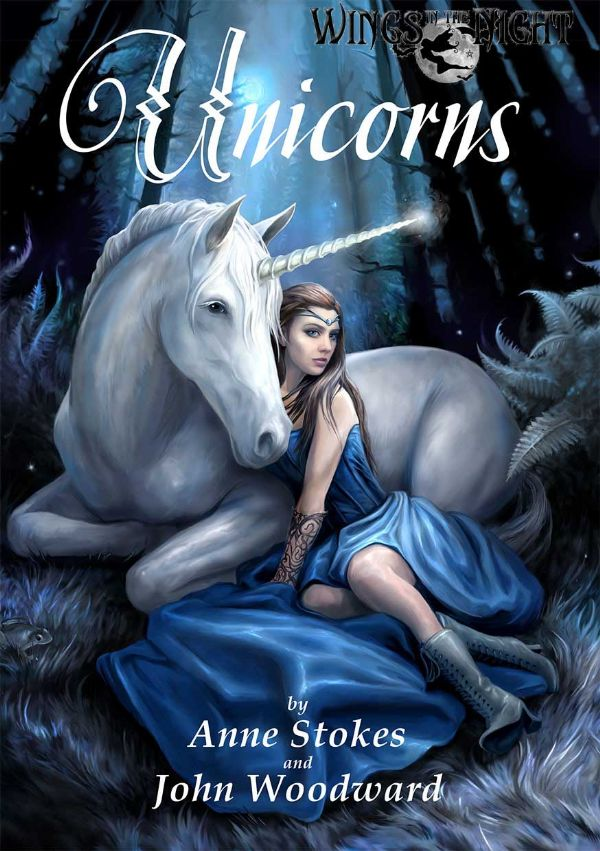 ANNE STOKES Mythical Unicorns Book